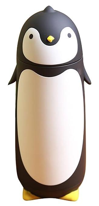 amazon com chezmax penguin cartoon water bottle for kids water rh amazon com cute penguin cartoon pictures penguin cartoon images