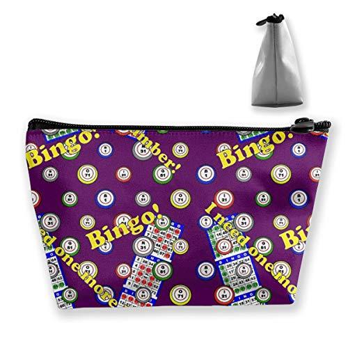 (MODREACH Staroklaho Bingo Pencil Case Bag Zipper Bag Coin Bag Makeup Bag Pouch Storage Bags Large Capacity Pen Holders for Children School Kids Boys Girls Women Gift)