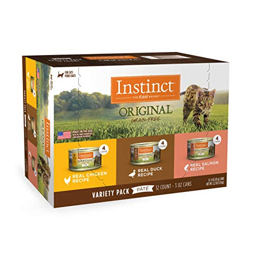 Instinct Original Grain Free Real Chicken Recipe Natural Wet Canned Cat Food by Nature's Variety, 3...
