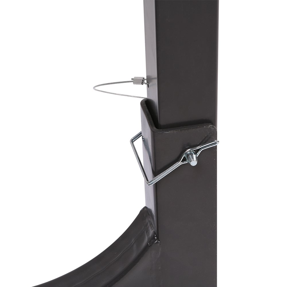 IKURAM 3-Bike Hitch Mount Bicycle Rack Foldable Fit 2 Inch Hitch Receiver by IKURAM (Image #5)