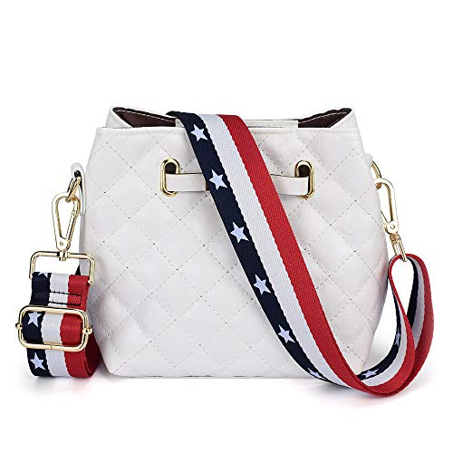 Adjustable Replacement Guitar Strap Styled Handbag Purse Strap (Us Flag)
