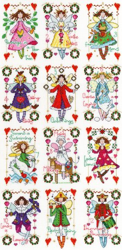 12 Days Of Christmas Cross Stitch.Bothy Threads Twelve Days Of Christmas Cross Stitch Kit