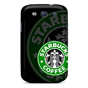 Shockproof Hard Cell-phone Cases For Samsung Galaxy S3 (twc14074anal) Provide Private Custom Fashion Starbucks Logo Pictures