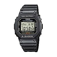 Casio - G-shock DW5600E-1V - Reloj deportivo deportivo de resina negra resistente a los golpes