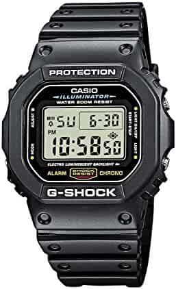 Casio G-shock DW5600E-1V Men's Black Resin Sport Watch