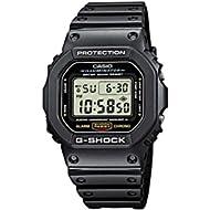 Men's G-shock DW5600E-1V Shock Resistant Black Resin Sport Watch