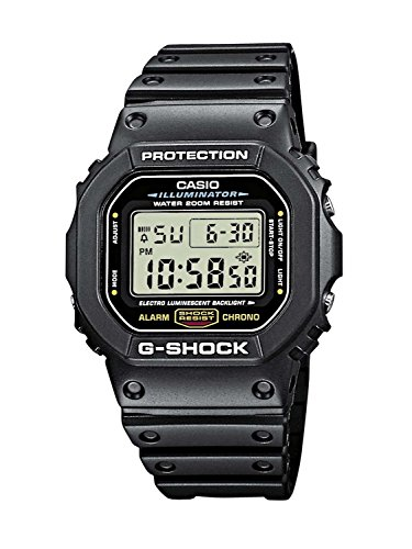 (Casio Men's G-shock DW5600E-1V Shock Resistant Black Resin Sport Watch)