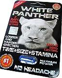 #1 White Panther Power Man Stamina Enhancement Pill 6 Pills