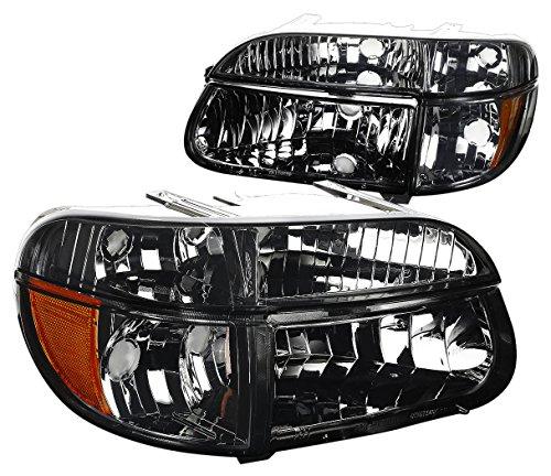 DNA Motoring HL-OH-FEXP954P-SM-AM Headlight Assembly, Driver & Passenger ()