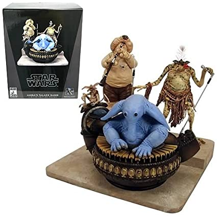 Star Wars Jabba's Palace Band Statue