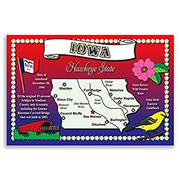 IOWA STATE MAP postcard set of 20 identical postcards. Post cards with on iowa map by county, davenport iowa map, iowa roadway map, wisconsin central map, iowa map of america, iowa driving map, iowa travel map, iowa map usa, i-80 map, western railway of alabama map, ne iowa map, iowa metro map, iowa road map, iowa maps with major cities, iowa utility map, google maps iowa street map, illinois railway museum map, east broad top map, saint charles county zip code map, iowa map with mile markers,