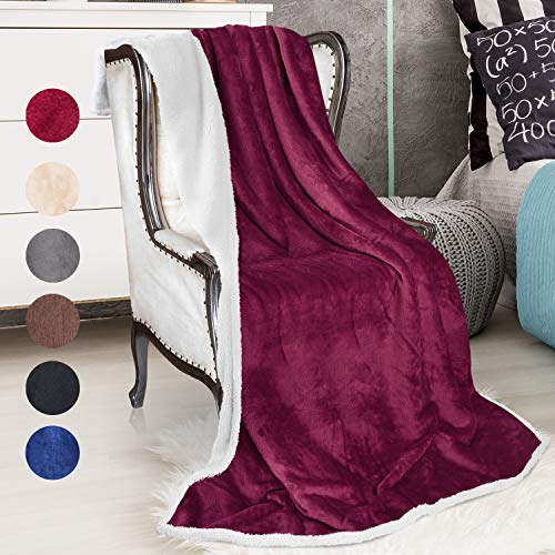 Catalonia Sherpa Throws Blanket Snuggle product image