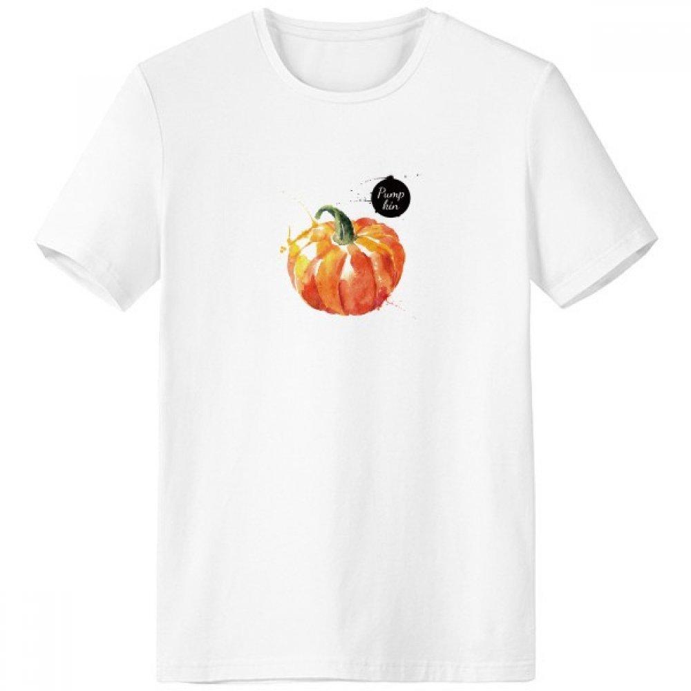 DIYthinker Vehículo de la Calabaza Sabrosa Sana Acuarela Escote de la Camiseta Blanca de Primavera y Verano de Tagless Comfort Deportes Camisetas de Regalos - Multi - Media sku00376048f23607-M
