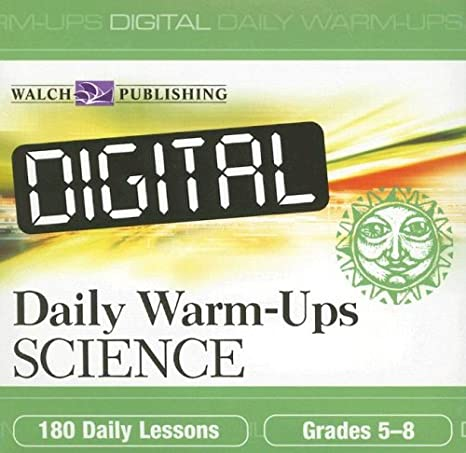 Amazon.com: Digital Daily Warm ups: Science Grades 5-8