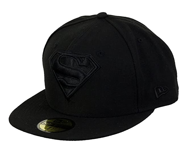 90c7baade63bf A NEW ERA Era DC Comics Basecap Superman Black  Amazon.es  Ropa y accesorios