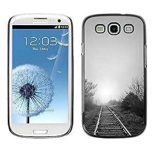 "For SAMSUNG Galaxy S3 III / i9300 / i747 , S-type Naturaleza Hermosa Forrest Verde 119"" - Arte & diseño plástico duro Fundas Cover Cubre Hard Case Cover"