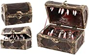 Forged Dice Co Mimic Chest Dice Storage Box - Container Holds up to 5 Sets of Polyhedral Dice or 35 Individual