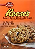 Reese's PEANUT BUTTER & CHOCOLATE CHUNK Premium Cookie Mix 12.5oz (2 Pack)