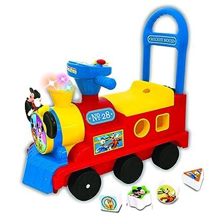 Disney Mickey Mouse Play n Sort Activity Train: Amazon.es ...