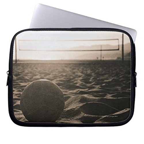 11.6-12 Inch Laptop Sleeve Cute Volleyball in The Sand Notebook Computer Case for Apple MacBook Acer Samsung Ultrabook Asus Fujitsu Lenovo HP Sony Toshiba - Volleyball Skin Laptop