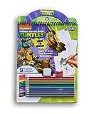 ninja turtle art kit - Learn to Draw Teenage Mutant Ninja Turtles Kit - Includes Colored Pencils, Eraser, and Sharpener