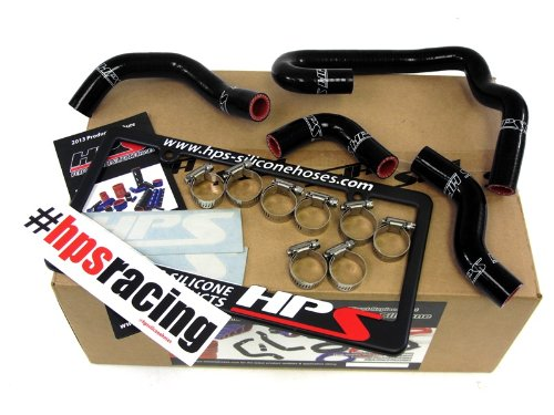HPS 57-1323H-BLK-2 Black Silicone Heater Hose Kit (Coolant)