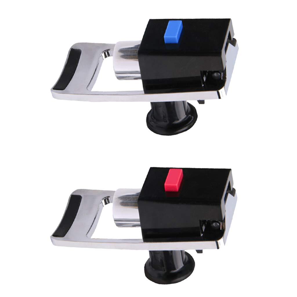 Baosity 2pcs Push Type Cold /& Hot Drink Tap Faucet for Water Cooler//Dispenser C Styles Spigot