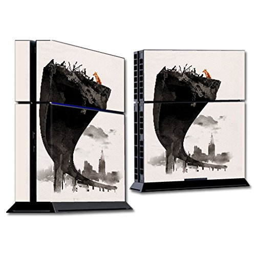 MightySkins Skin Compatible with Sony PS4 Console - Last of Us | Protective, Durable, and Unique Vinyl Decal wrap Cover | Easy to Apply, Remove, and Change Styles | Made in The USA