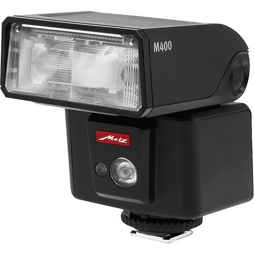 Metz M400 Series Mecablitz Compact Flash for Canon, Black (MZ M400C) by Metz