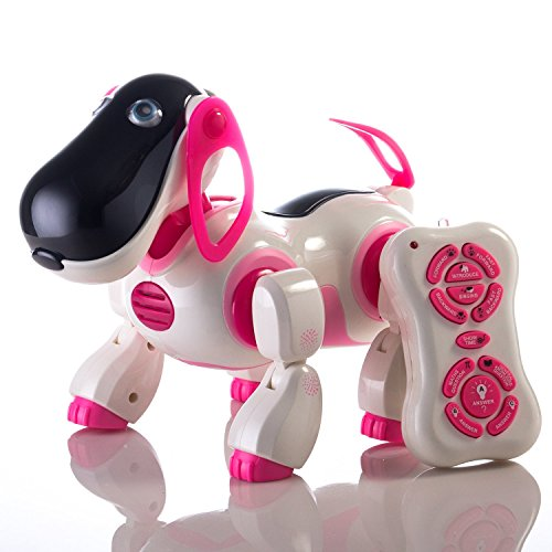 Huge Sale Durherm Youngsters's Sensible Robotic Canine, Sing Dance Strolling Speaking Dialogue Cute Pet Toy with Infrared Distant Management  Evaluations