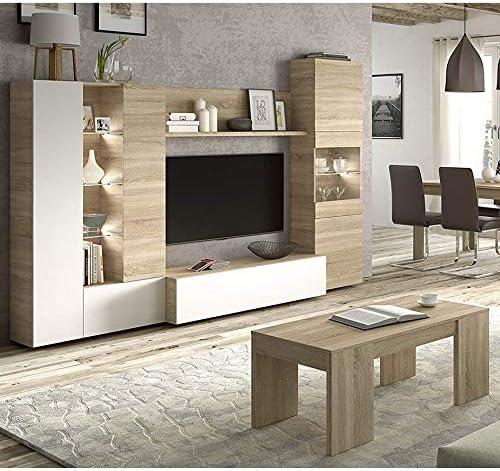 HABITMOBEL Completo Mueble de Salon Comedor con Mesa DE ...