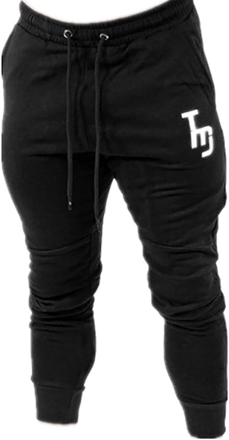 WWANGYU Pantalones Casuales Male Outdoor Pantalones de chándal ...