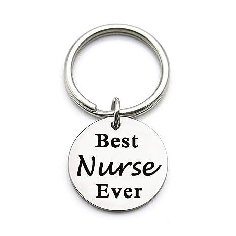 XYBAGS Llavero de enfermera Regalos para Mujer Llavero de ...