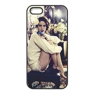 Customiz American Famous Singer Lana Del Rey Back Case for iphone 5 5S JN5S-2481