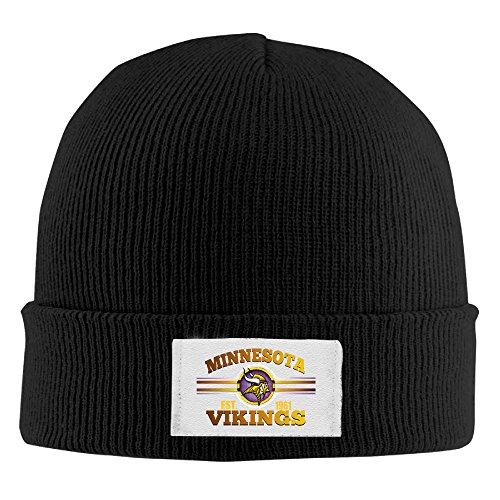 Amone Minnesota Viking Winter Knitting Wool Warm Hat - Outlet Sunglass Rayban