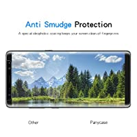 Galaxy Note 8 Screen Protector,Galaxy Note 8 Tempered Glass,Panycase [Case Friendly] Ultra Clear 9H Hardness Tempered Glass Screen Protector for Samsung Galaxy Note 8 from Panycase