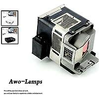 AWO VLT-XD560LP Premium Replacement Lamp with Housing For MITSUBISHI GH-670/GW-360ST/GW-365ST/GW-370ST/GW-385ST/GW-665/GX-360ST/GX-365ST/GX-660/GX-665/GX-680/GX-845/WD380-EST/WD380U/XD550U/XD560U
