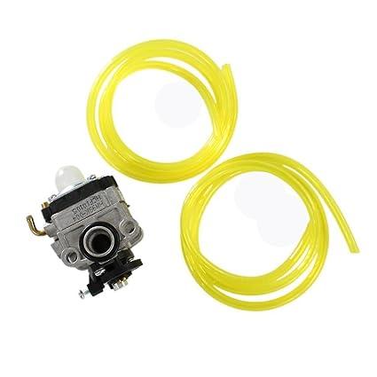 HURI Carburetor Fuel Line for Honda 4 Cycle Engine FG100 GX22 GX31 Little  Wonder Mantis Tiller 4 Stroke Engine Trimmer Cutter