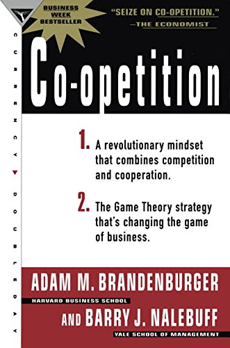 the concept of coopetition Is there any young person or group of young people that is using the concept of coopetition in their life, studies or work i'd like to hear your voice.