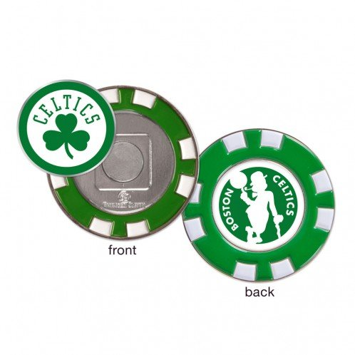 Wincraft Boston Celtics NBA Poker Chip Golf Ball Marker