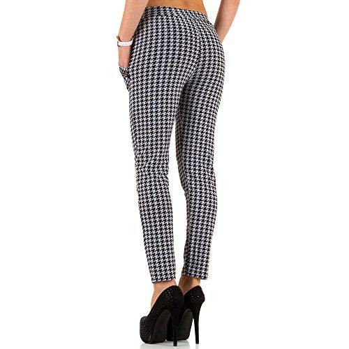 Elastische Treggings Skinny Hose Für Damen , Weiß In Gr. S/M bei Ital-Design