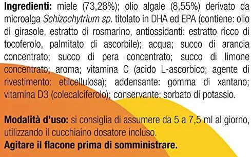 Omegor Kids - Omega-3 DHA Vegetal y Vitamina D para Niños, 140 ml: Amazon.es: Salud y cuidado personal