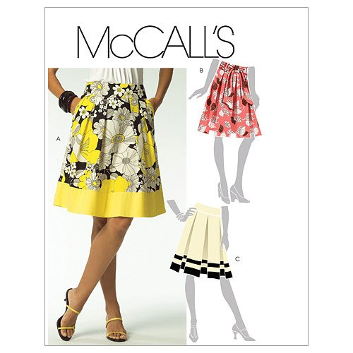 Mccalls Misses Skirt - McCall's Patterns M5591 Misses' Skirts and Sash, Size E5 (14-16-18-20-22)