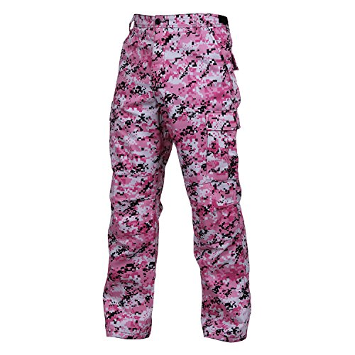 Rothco BDU Pant, Pink Digital Camo, 3X-Large (Digital Camo Gear)