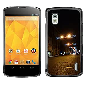 Hot Style Cell Phone PC Hard Case Cover // M00103364 places january kharkiv sumy // LG Nexus 4
