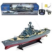 RC Ht Radio Control Rc Battle Warship Boat Cruiser Destroyer, 23 pulgadas
