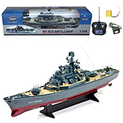 1:250 Scale Japanese Yamato Electric RC WWII HT-3826 Warship/Battle Ship   Yamato, named after the ancient Japanese Yamato Province, was a battleship of the Imperial Japanese Navy. She was the first built (the lead ship) of the Yamato class. ...