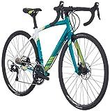 Raleigh Bikes Revere 3 Women's Endurance Road Bike, 52 cm/Small, Teal Raleigh Bikes