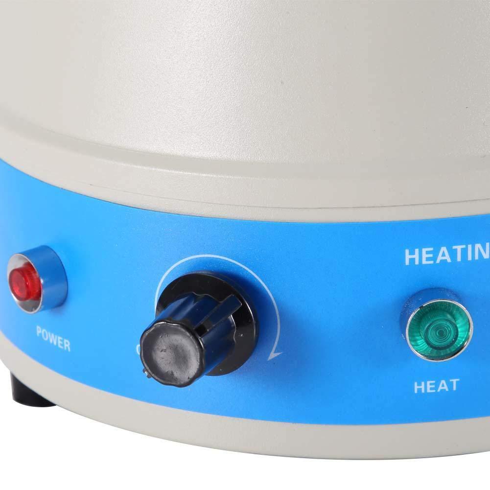 500ml Controlador digital de temperatura de agitaci/ón Manta calefactora herramienta 220V EU Plug Manta calefactora