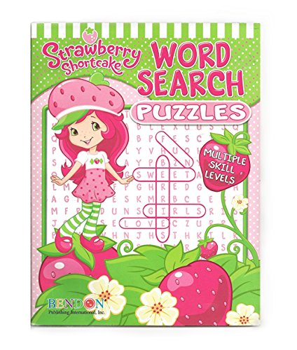 Strawberry Shortcake Word Search (Strawberry Word Book)